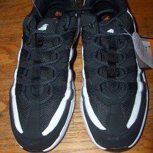 Mens Size 8.5 Black White Avia Sneakers Mesh Top